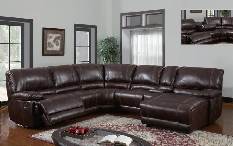 6 Piece Sectional Sofa Leather