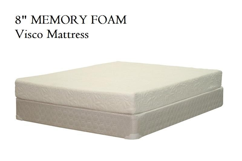 8 Visco Memory Foam Mattress