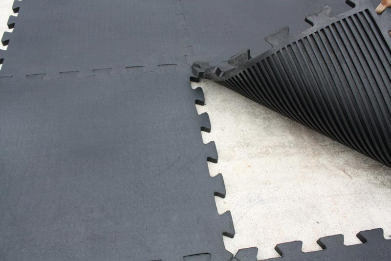 Cheap Interlocking Rubber Floor Tiles