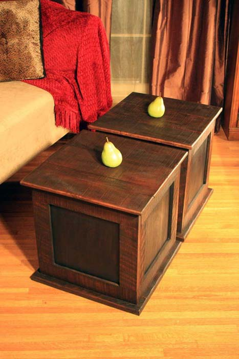 Contemporary Cube Coffee Table