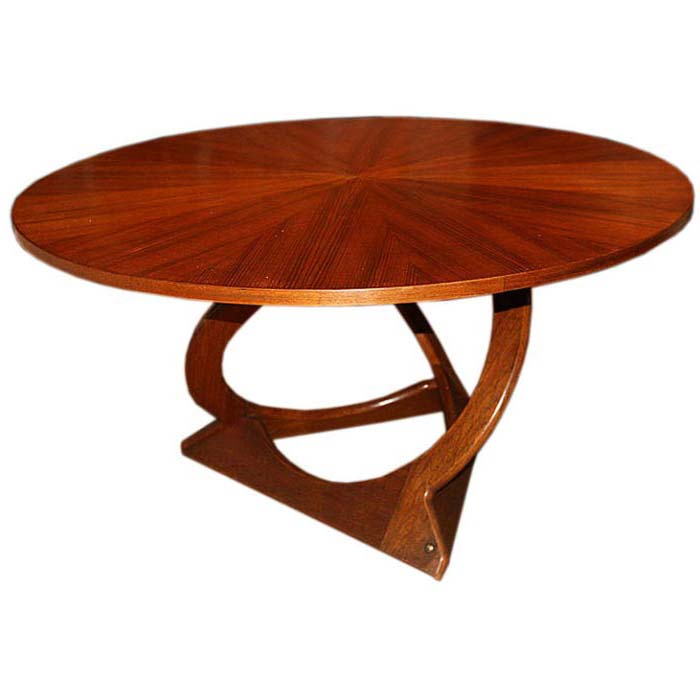 Danish Coffee Table Round
