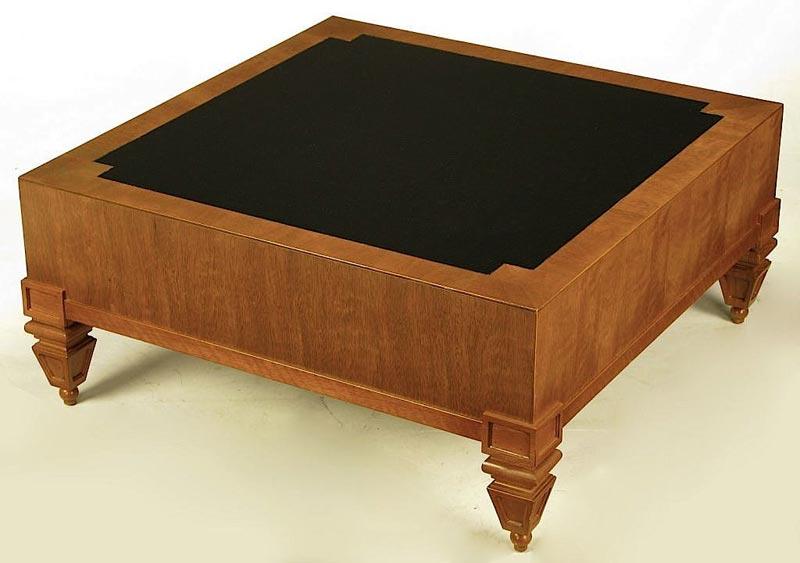 Dark Mahogany Coffee Table