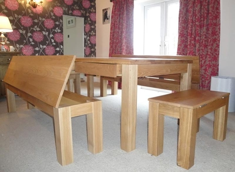 Dining Room Oak Bench