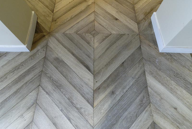 Finger Pattern Parquet Floor Tiles Ready Sealed