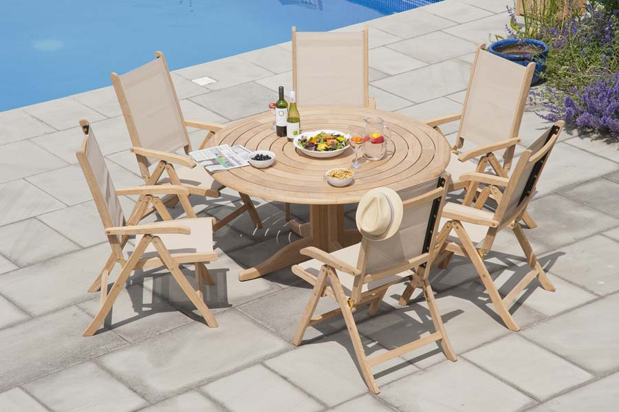 Garden Chairs Textilene