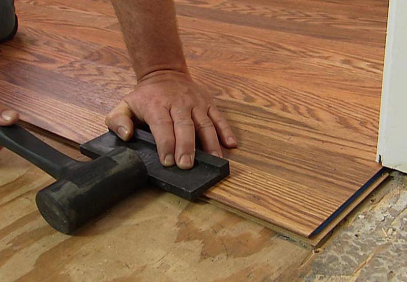 How To Lay A Floating Laminate Wood Floor