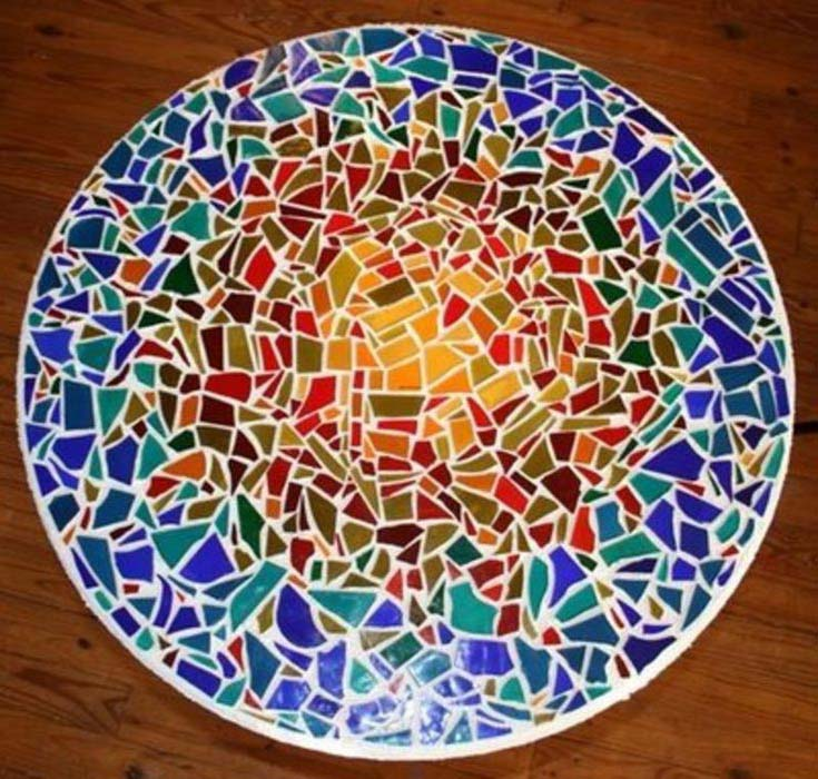 How To Make A Mosaic Tile Coffee Table