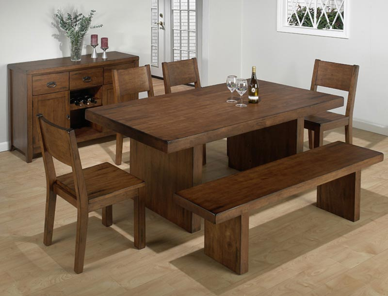 Jofran Dining Table With Bench