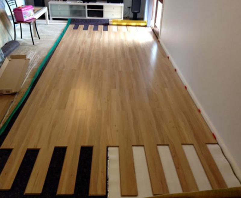 Laminate Flooring And Underlay