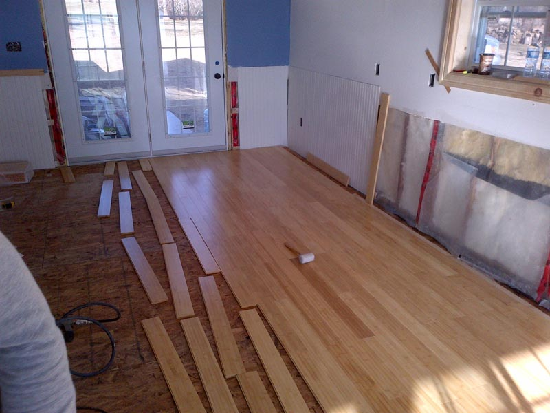 Laminate Flooring And Underlayment