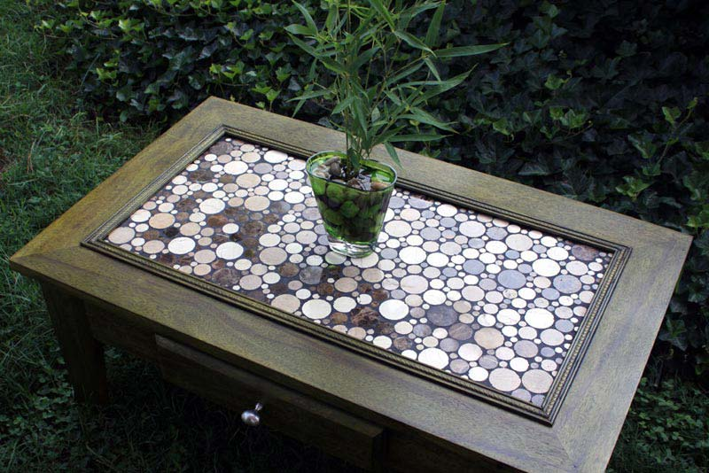 Make Mosaic Coffee Table