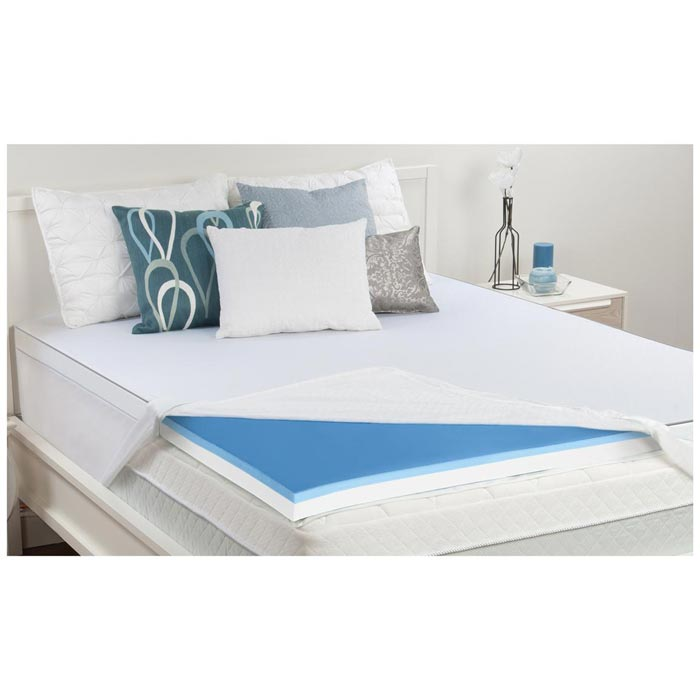 Mattress Topper Gel Memory Foam