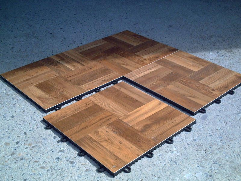 Outdoor Parquet Flooring Tiles