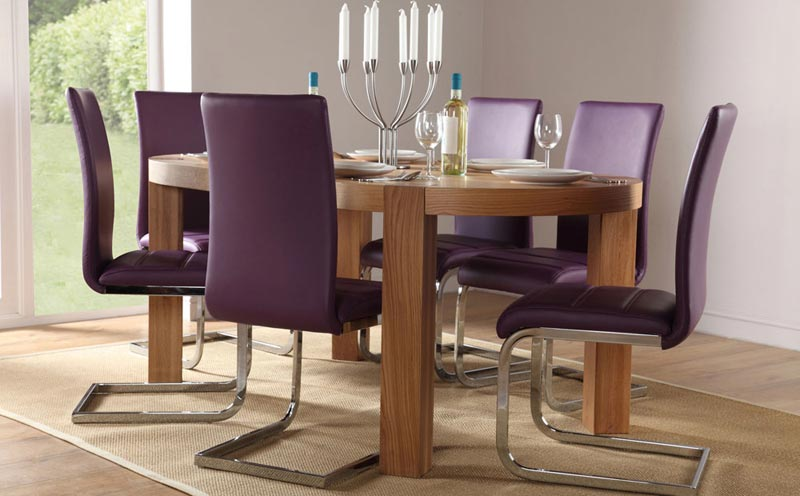 Perth Purple Dining Chairs