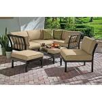 : Ragan Meadow 7 Piece Outdoor Sectional Sofa Set Seats 5