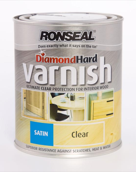 Ronseal Diamond Hard Floor Varnish 750Ml