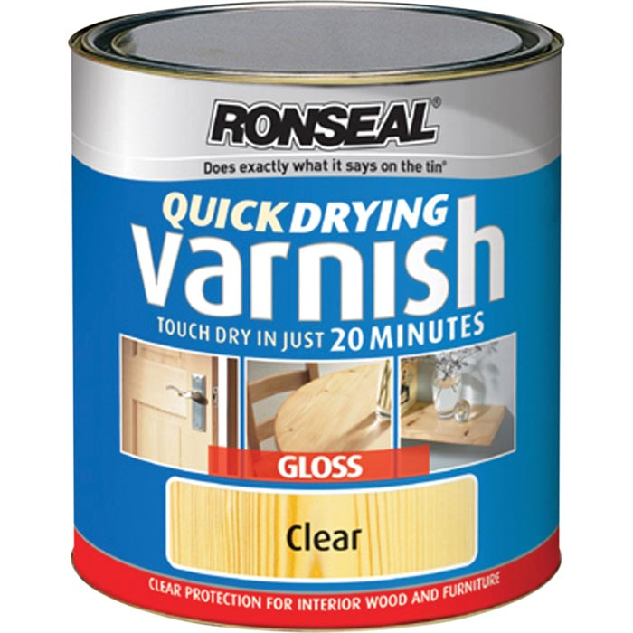 Ronseal Quick Drying Floor Varnish