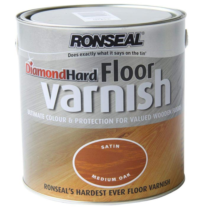 ronseal diamond varnish medium oak 2.5lt