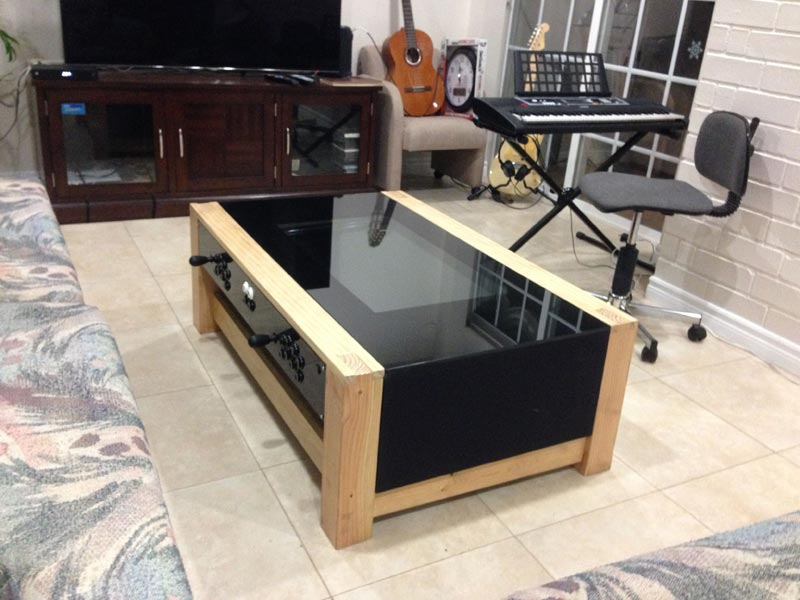 arcade coffee table kit