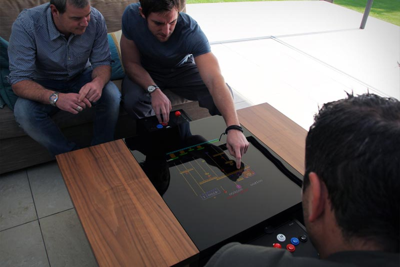 arcade coffee table plans