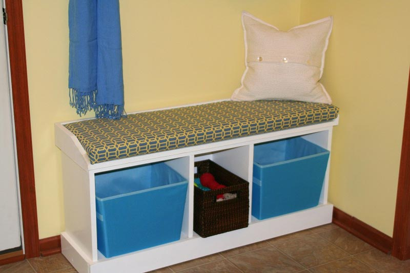 shoe rack bench seat ends