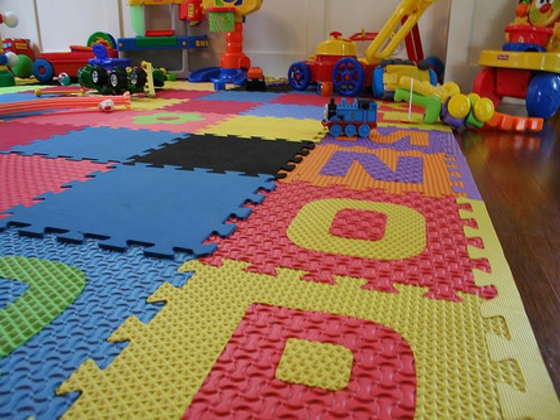 Designer Rubber Flooring Residential