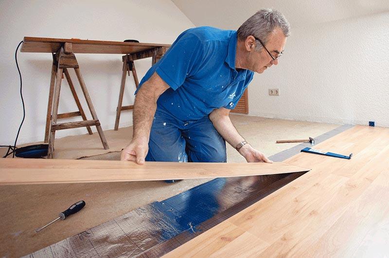 Laying Oak Flooring On Floorboards