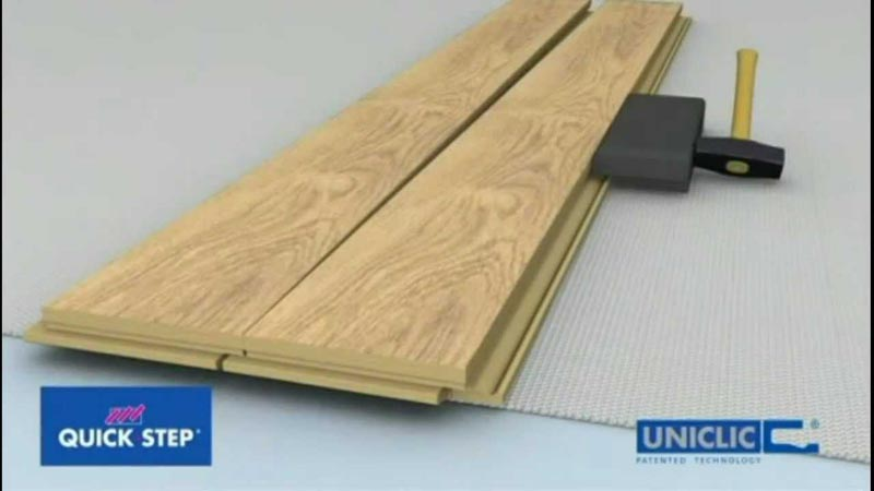 Quick Step Uniclic Laminate Flooring