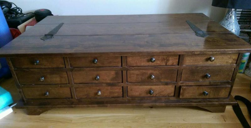apothecary coffee table ebay