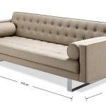 : dimensions of 3 seater sofa