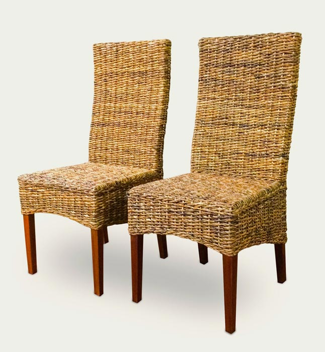 seagrass chairs for dining