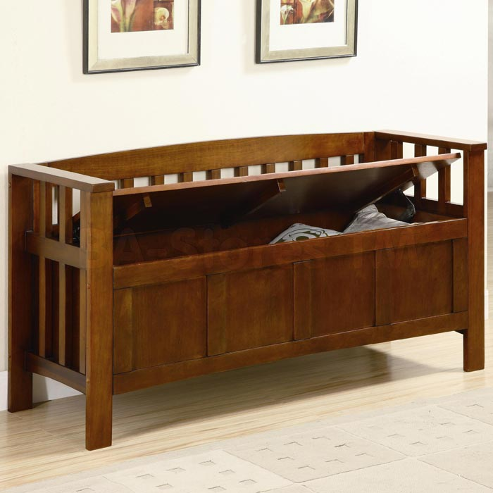 wooden storage bench indoor uk