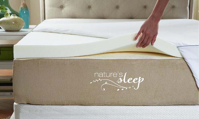 High Density Memory Foam Mattress Topper