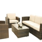 : ascot rattan sofa set 3 seater sofa