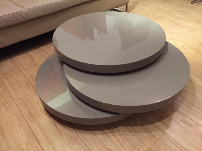 dwell swivel coffee table