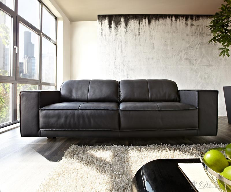 ledersofa schwarz full size of ledersofa l form ledersofa schwarz weiss ecksofa leder schwarz. Black Bedroom Furniture Sets. Home Design Ideas