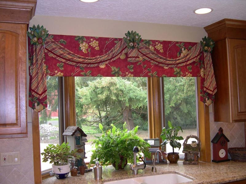 kohls curtain valances