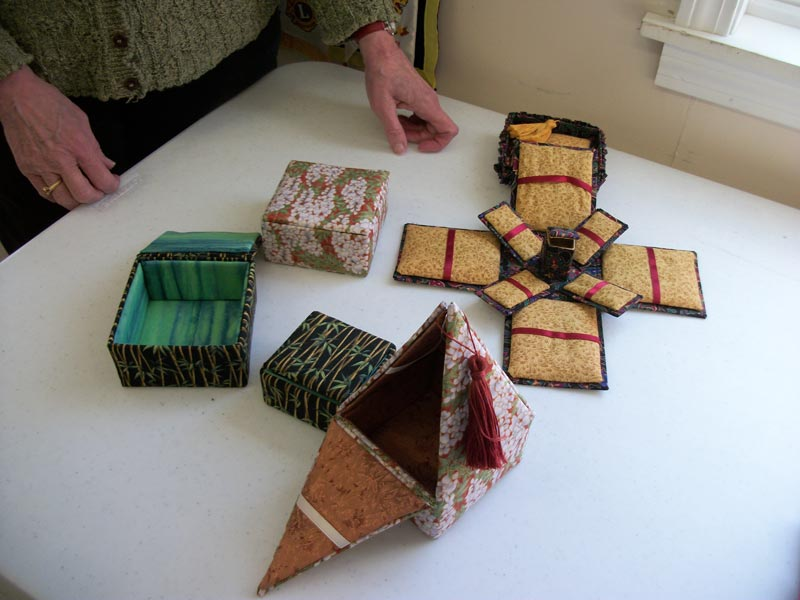Making Embroidered Boxes. Picture: Ben A. Pruchnie/Getty Images Source:Getty Images