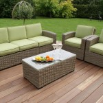 : maze rattan kingston 3 seater sofa