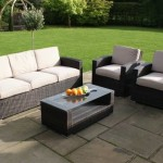 : maze rattan kingston 3 seater sofa set