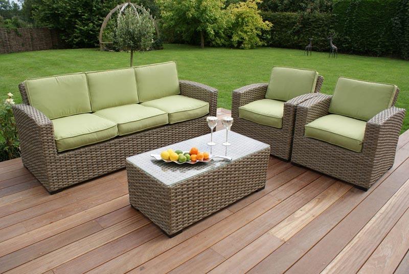 Maze Rattan Kingston 3 Seater Sofa