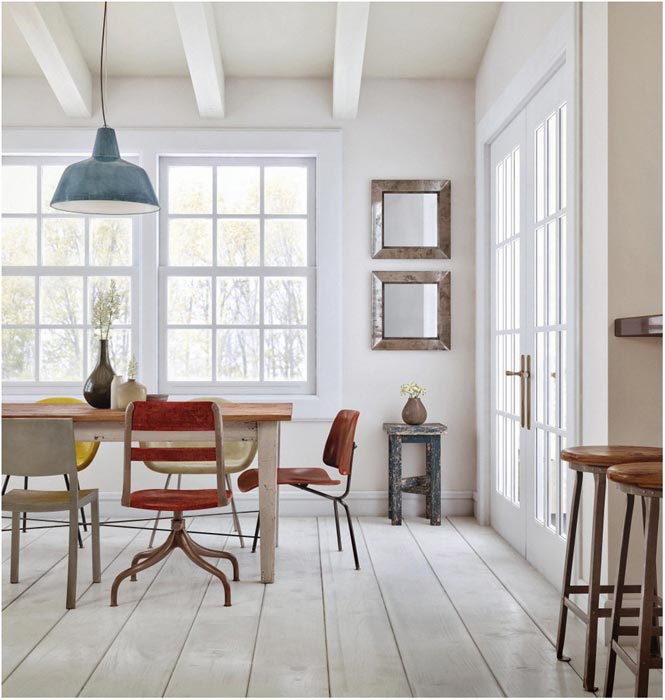 mismatched dining room chairs 2014