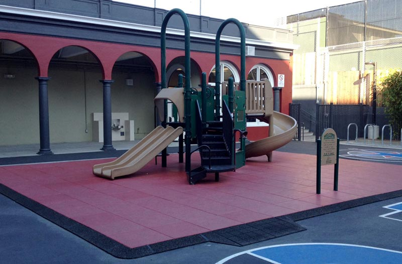 playground rubber mats lowes