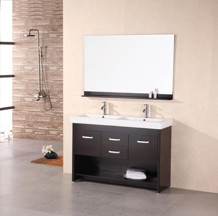 42 double sink bathroom vanity