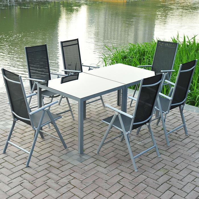 6 piece garden furniture set aldi
