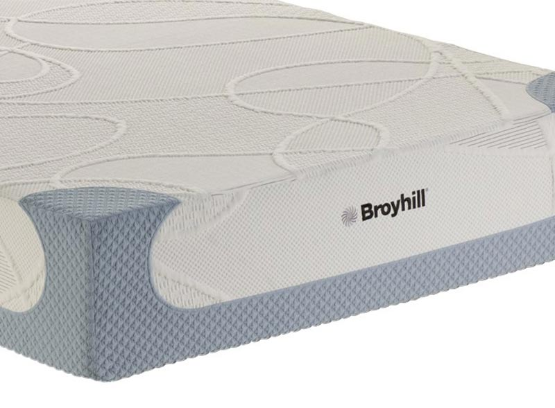 "Spa Sensations 10"" Memory Foam And Spring Hybrid Mattress"