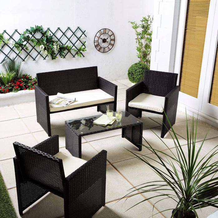 Aldi garden furniture modern style spiced with great - Gartenliege modern ...