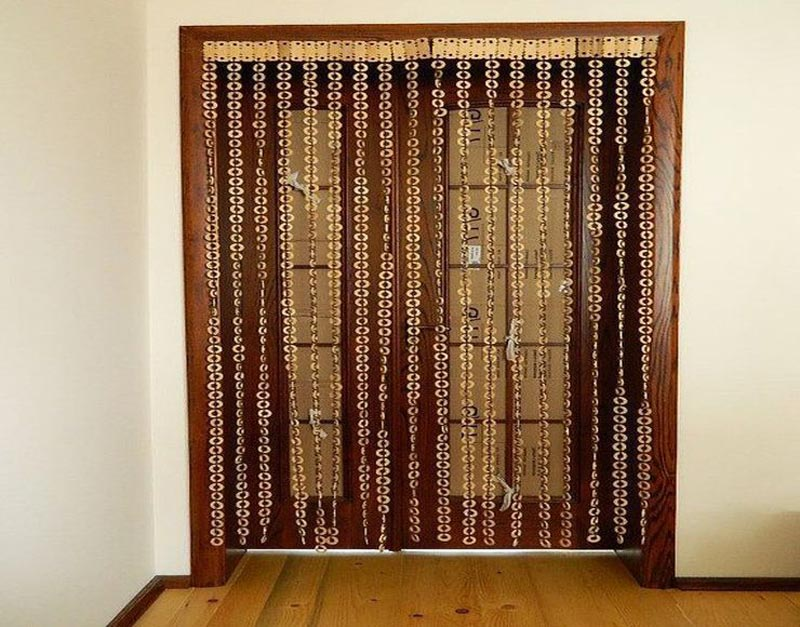 beaded door curtains pier one