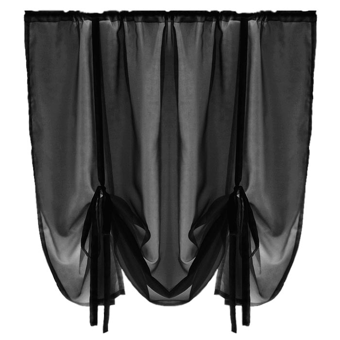 black voile curtains ikea