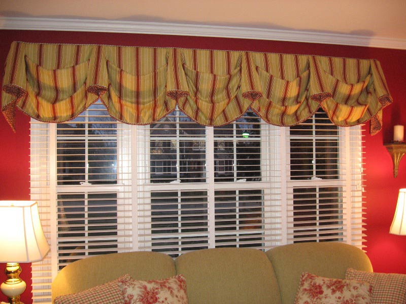 curtains with valance for living room 10